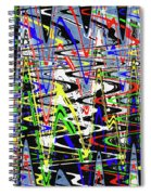 Pine Tree Abstract ,3448wt Spiral Notebook