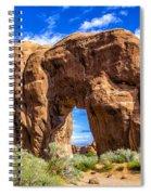Pine Tree Arch Spiral Notebook
