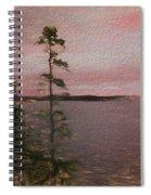 Pine Tree Spiral Notebook
