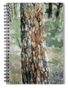Pine Tree Spiral Notebook