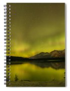 Pine Tree Silhouettes Spiral Notebook