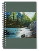 Pine Trees Spiral Notebook