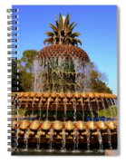 Pineapple Fountain Charleston Sc Spiral Notebook