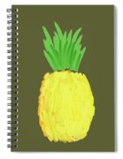 Pineapple Spiral Notebook