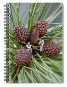 Pinecone Tull Spiral Notebook