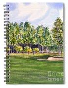 Pinehurst Golf Course 17th Hole Spiral Notebook