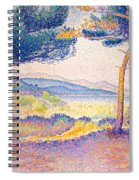 Pines Along The Shore, 1896 Spiral Notebook