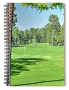 Pinetop Country Club - Hole #18 - Photos Spiral Notebook