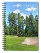Pinetop Country Club Photos Spiral Notebook