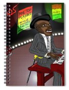 Pinetop Perkins Spiral Notebook