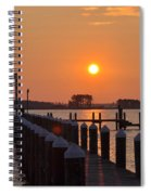 Piney Point Sunrise Spiral Notebook