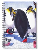 Pinguino Heels Spiral Notebook