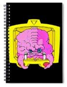 Pink Alien Spiral Notebook