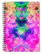 Pink And Lilac Spiral Notebook