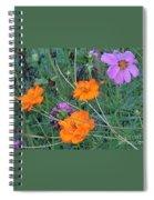 Pink And Orange Merger Spiral Notebook