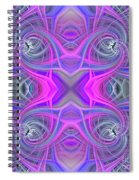 Pink And Purple Spiral Notebook