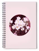 Pink And White Anemones Spiral Notebook