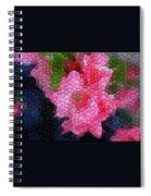 Pink Azaleas Spiral Notebook