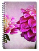 Pink Beauties Spiral Notebook