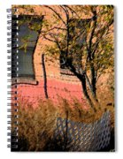 Pink Brick House Spiral Notebook