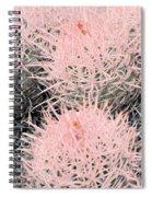 Pink Cactus Spiral Notebook