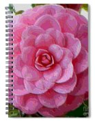 Pink Camellia Dream  Spiral Notebook