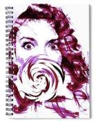 Pink Candy Spiral Notebook