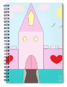 Pink Castle  Spiral Notebook