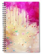 Pink Celebration Spiral Notebook