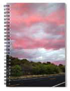 Pink Clouds Over Arizona Spiral Notebook
