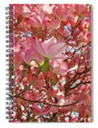 Pink Dogwood Flowering Tree Art Prints Canvas Baslee Troutman Spiral Notebook