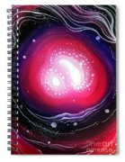 Pink Flash Of Energy. Sweet Dreams. Astral Vision Spiral Notebook