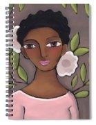 Pink Flower 2 Spiral Notebook
