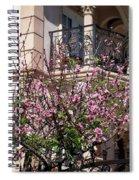 Pink Flower Tree. Elegant Spiral Notebook