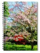 Pink Flowering Dogwood Spiral Notebook