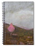 Pink Flowering Tree Spiral Notebook