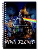 Pink Floyd Montage Spiral Notebook