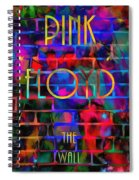 Pink Floyd The Wall Spiral Notebook