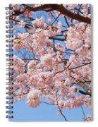 Pink Fluffy Branches Spiral Notebook