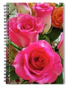Pink Fog @2 Spiral Notebook