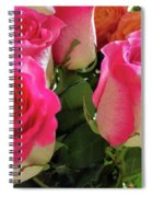 Pink Fog Spiral Notebook