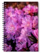 Pink From Heart Spiral Notebook