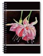 Pink Fuscia Spiral Notebook