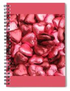 Pink Heart Chocolates II Spiral Notebook