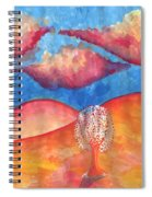 Pink Hills Dream Spiral Notebook