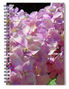 Pink Hydrangea Flower Floral Art Prints Baslee Troutman Spiral Notebook