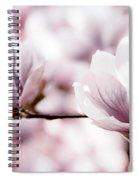 Pink Magnolia Spiral Notebook