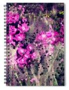 Pink Majestic Garden- Art By Linda Woods Spiral Notebook