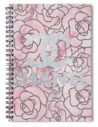 Pink Marble Chanel Spiral Notebook
