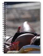 Pink Nails Spiral Notebook